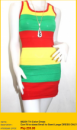 Tri-color Dress