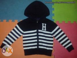 Authentic Tommy Hilfiger knitted hoodie for 2T
