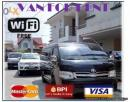 Van for rent,  rent a van with FREE WiFi and DVD Quezon City